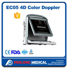Color Digital equipo de diagnóstico ultrasónico Doppler Color portátil Doppler Eco5
