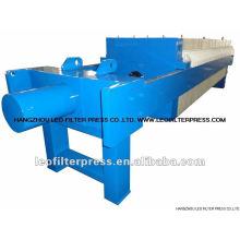 Sistema de prensa de filtro de deshidratación con arcilla cerámica Kaolin Sistema de prensa con filtro Leo
