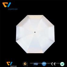 Tela de poliéster reflectante delgada fina plata vis para hacer paraguas