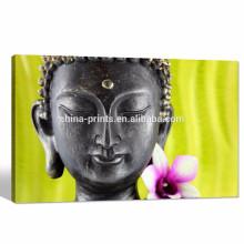 Современное искусство холста Будды / Цветочная картина Цифровая печать на холсте / мир