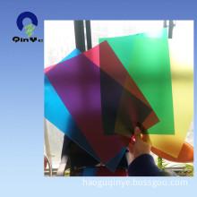 Rigid PVC Color Plastic Film for Book Cover