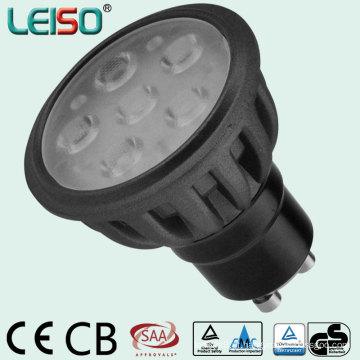 Venda quente Original Tamanho Padrão 580lm LED Spotlight (LS-S505-GU10-NWW / NW)