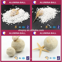 Alumina ball for gas and oil cracking gas dehydration