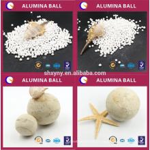 Alumina bola de desidratação de ar, gás, óleo cracking gás