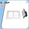 YGC-009 Plaques murales d'interrupteurs décoratifs ménagers avec douilles