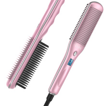 Rush brush steam straightener brush