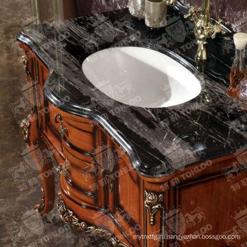 Классическая Деревянная Ванная Комната, Деревянная Мебель Для Ванной Комнаты Шкафы