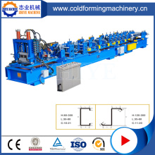Zinc C Z Shaped Purlin Roll Form Machine