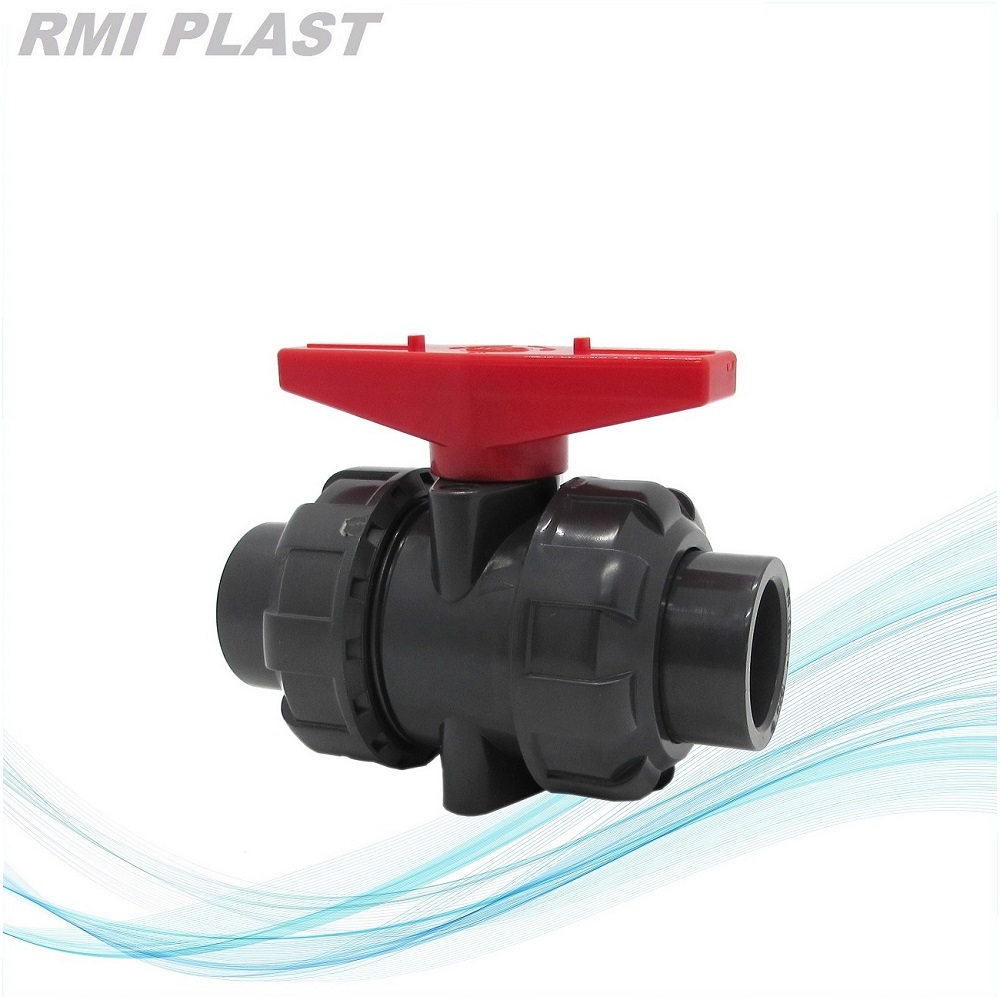 PVC Ball Valve Screw Port NPT