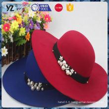 Alimentation en usine différents types chapeau / chapeau de paille / chapeau d'été prix de gros