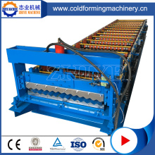 Fully Automatic Steel Galvanize Roof Panel Making Machine