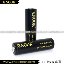 High Capacity 18650 Enook 3600mah Cell