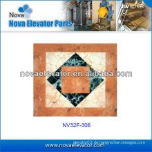 Aufzug Kabine Dekoration, Passagier Aufzug Boden, Aufzug Auto PVC Boden