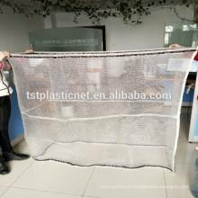 sacos de malha de plástico de cordão de alta qualidade para lenha