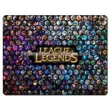 yugioh game mat league legends gaming mat with high quality