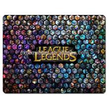 Yugioh game mat league legends gaming mat com alta qualidade