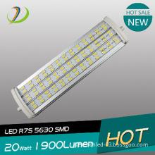 led light manufacturer smd5630 r7s led 189mm 20W