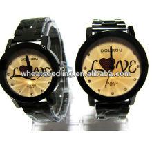 Homens e mulheres relógios conjuntos conjunto relógio casal JW-43