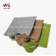 sac d'ordinateur portable en laine feutrée de haute qualité