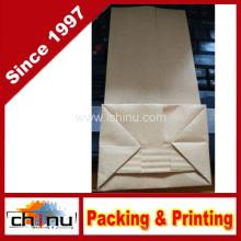 Saco de papel branco personalizado do açúcar do café da farinha de Kraft com impressão do cliente (220111)