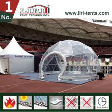 Geodätisches Kuppelzelt für Ausstellung, Ausstellungszelt für Verkauf
