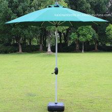 Stainless Steel Bone Wind Proof Garden Umbrella