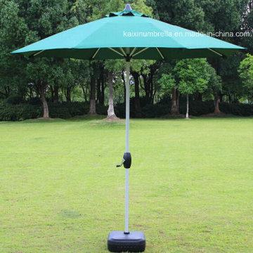 Зонтик из нержавеющей стали с костью для защиты от ветра