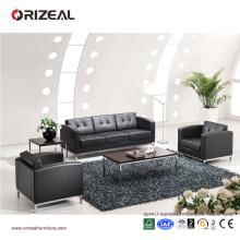 Orizeal cuir noir relaxant plier le canapé (OZ-OSF006)