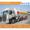 JAC bulk flour tanker truck factory hot sale