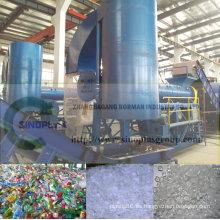 Máquina de reciclaje de botellas de mascotas