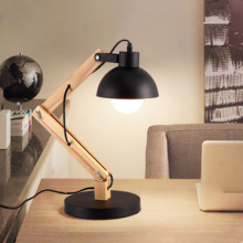 Creative living room folding study reading lamps