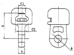 Socket Clevis