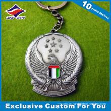 Corrente chave do metal do falcão do dia nacional dos UAE como presentes relativos à promoção