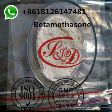 Polvo esteroide tópico CAS de Betamethasone de la pureza del 99.8% CAS 378-44-9 Hormona corticosteroide