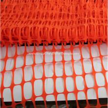 1 x 50m UV estabilizado cerca de malha de segurança laranja