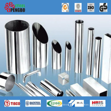 Welded Stainless Steel Pipe (Round Square Rectangle)