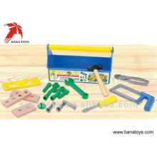 Jogo de ferramentas de plástico brinquedo