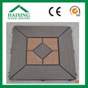 Wood Plastic Composite DIY Patio Tile (HS-09)