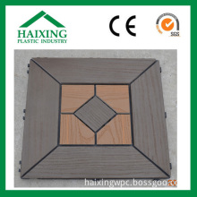 Wood Plastic Composite DIY Patio Tile (HS-09)
