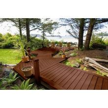 Plástico de madeira composto fabricantes / outdoor WPC chão plástico composto de madeira