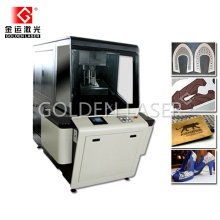 Galvo Laser Engraving Machine for Leather Shoe