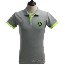 Kann angepasstes Entwurfs-angepasstes Großhandelsart- und weisepiqué-Polo-T-Shirt sein