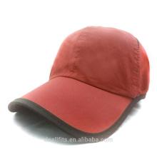100% poliéster con la insignia de encargo casquillo de golf barato del precio