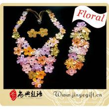 heavy artificial full set jewellery girls