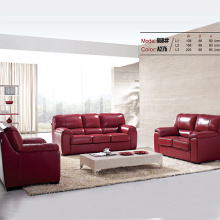 Italian Coaster 3-Piece Leather Sectional Sofa Set