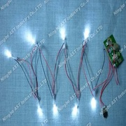 LED Flasher, LED Blinkande Module, LED Blinkande Flasher
