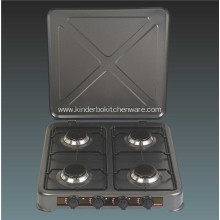 Cheap Price Teflon Gas Stove With Cover