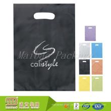 Gute Qualität Bio abbaubare Gewohnheit druckte schwarze Farbe PO / HDPE mattierte Plastiktasche