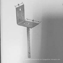 Fibro galvanizado caliente de la fábrica de China fábrica / ancla de los posts para la cerca