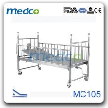Детская кровать для детей Делюкс с слайдом MC105